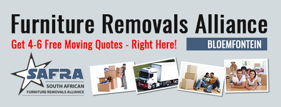 Furniture Removals Bloemfontein | Get 4-6 Quotes Right Here!